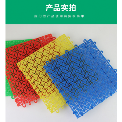 广西南宁悬浮拼装地板 幼儿园场地包工包料康奇体育