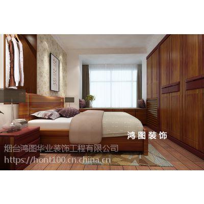 【鸿图装饰】泰然名居新中式风格装修效果图及设计方案