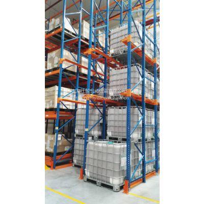 新款安全性更高的新型结构贯通式货架 驶入式货架热销中