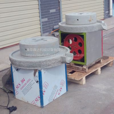 河南商用水磨豆浆石磨营养豆浆研磨机械多用途香油石磨