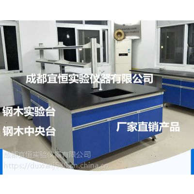 四川成都批发实验室家具,宜恒实验台批发公司,钢木中央台规格