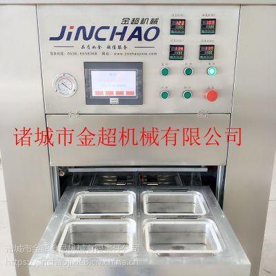 风干鸡气调包装机烧鸡盒式包装机