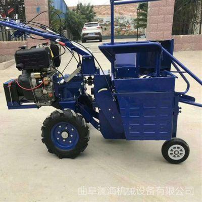 汽油9马力苞米收割机 手扶车配套动力玉米收获机 单行单垄玉米收获机