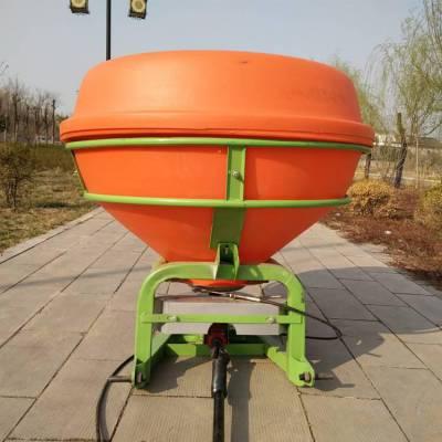 全新后悬挂式扬肥机750kg拖拉机带动施肥专用农田后置撒播机