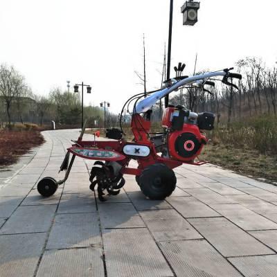 柴油大马力开沟机 多功能开沟培土旋耕机 自走式田园管理机