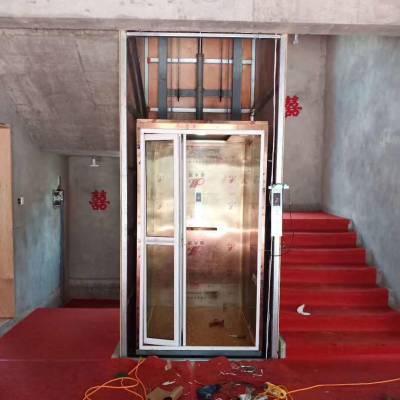 广元厂家直销家用小型升降机 载人电动升降台 别墅二层三层小型家用电梯