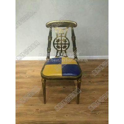 厂家直销欧式金属椅,潮流铁艺椅,倍斯特定制