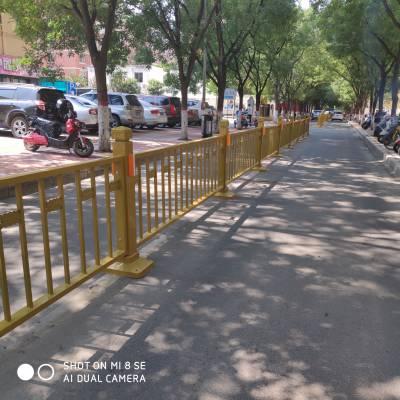 河南郑州市政道路交通隔离栏 护栏栏杆马路中间防护栏