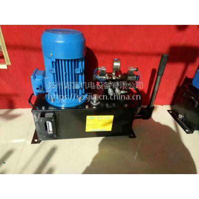 JS搅拌机出料门维修改造供应液压泵站全套通用配件