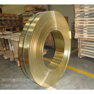 c2680R-H环保铜带 C2680高精高硬度黄铜带 进口半硬2.0铜带 高弹超薄铜带料