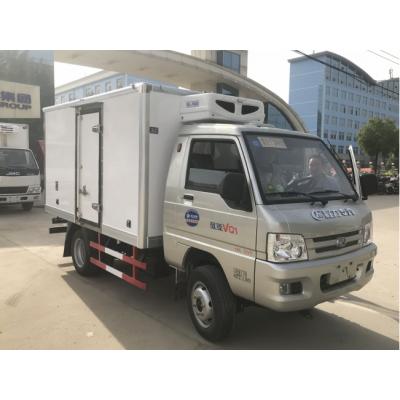 枣阳国五福田奥铃M4康明斯130马力冷藏车多少钱一辆