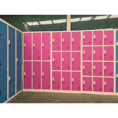 重庆储物柜 学生 学校 简约现代 更衣柜 铁皮衣柜 储物柜厂家直销