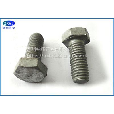 厂家直销 4.8级/8.8级 高强度螺栓 热镀锌螺栓
