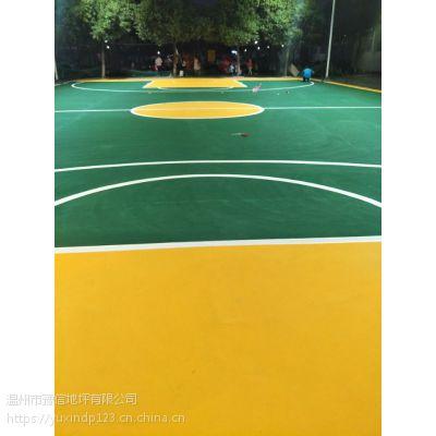 温州球场地坪工程施工 豫信地坪以客户要求设计施工方案 经验丰富