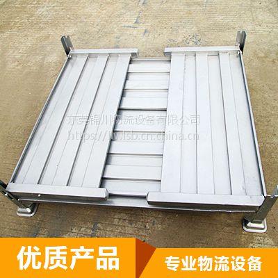 定做Q235钢储存周转箱 可折叠的汽车零件专用物流周转箱 厂家直销