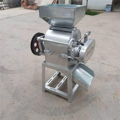 鼎翔专业生产小型豆扁机批发销售新型对辊拉丝挤扁机厂家