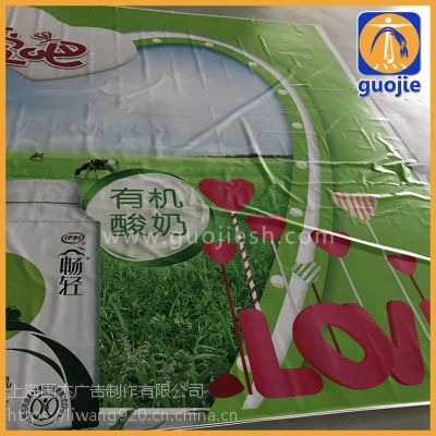 围档桁架围墙广告-户外喷绘加工制作上海实力高清写真加工大型喷画工厂450克材料可用2年之久