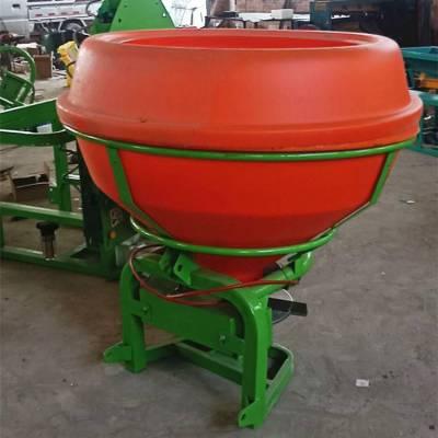 山东生产底肥快速撒播专用750KG农用车载扬肥机拖拉机悬挂施肥器