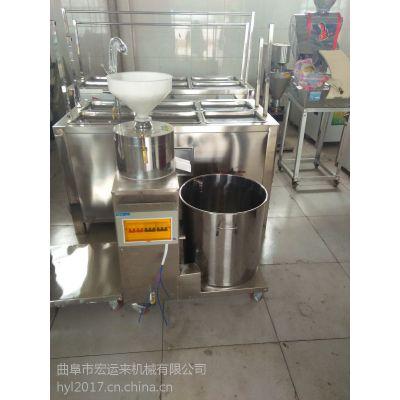 甘肃卤水豆腐机 全自动豆腐机 家用豆腐机不锈钢全自动豆腐机厂家