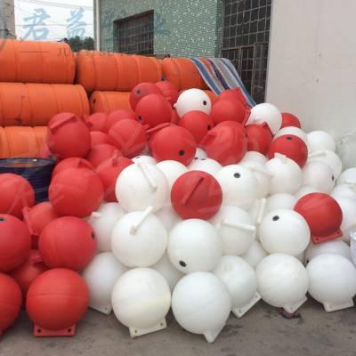 pe浮球浮球子 空心双耳塑料浮球 君益异型浮球批发