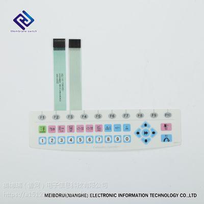专业生产MBR铝滴胶铭板,薄膜开关,按键面板。