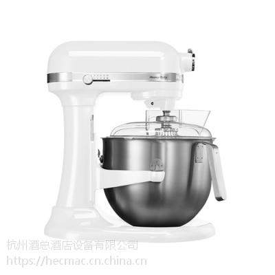 KITCHENAID厨宝打奶油机奶油搅拌机台式搅拌机厨师机5KPM5CER(WH)