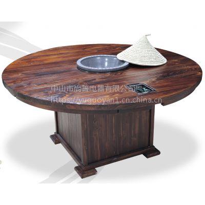 供应szd001蒸汽火锅桌配套设备大理石木质火锅桌酒楼酒店专用质量保证
