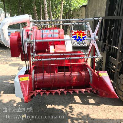 15马力手扶小麦收割机 套种地用履带式小型联合收割机 水稻收获机厂家