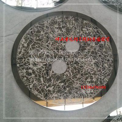 酒店大型仿铜浮雕壁画定做 铝板雕刻不锈钢仿铜墙画