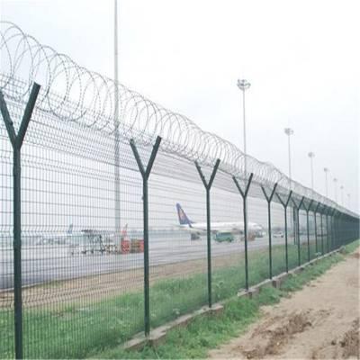 铁路护栏网 浸塑护栏网 围墙铁丝网