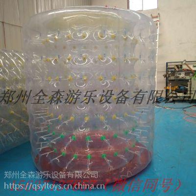 全森充气水上滚筒 彩色水上滚筒,价格/图片,