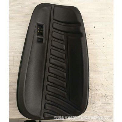 EVA泡棉热压成型运动护膝垫 异形冷热压成型高弹EVA肩带垫生产厂家