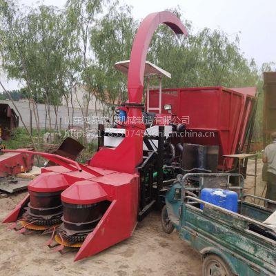 厂家直销履带式玉米秸秆粉碎打捆包膜青贮机 牧草切碎铡草机