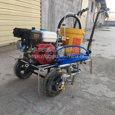 校园塑胶跑道划线机 停车场划线机 佳鑫路面标线机品牌