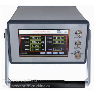 郑州凯旋DB-630PH便携式氢气纯度湿度综合分析仪(氢湿+氢纯)