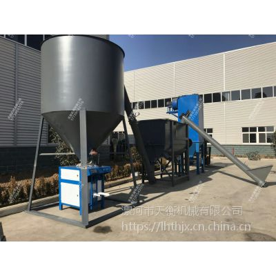 XY牌腻子粉连续生产线设备 涂料生产线 日产50T以上平台设备