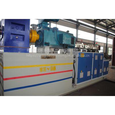 供应【青岛宝龙】PE管聚氨酯保温管机械设备 型号齐全