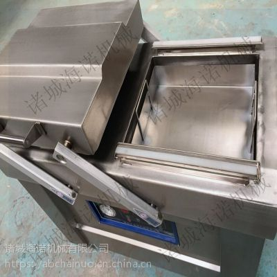 定做DZ-500/2S型玻璃瓶装酱菜真空旋盖机 马口铁盖自动封口机
