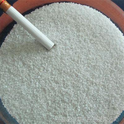 河北盛运供应雪花白彩砂 白沙子 白色石英砂  厂家直销 免费拿样