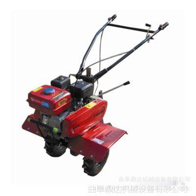 小型松土机开沟机 促销手扶式旋耕机械  多功能两驱微耕机