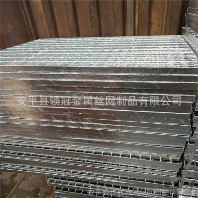 【领冠】专供污水处理厂平台热镀锌钢格栅板15203183691
