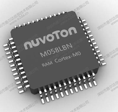 新唐一级代理商,NUC029LAN,LQFP48,64K flash单片机兼容M054/0516