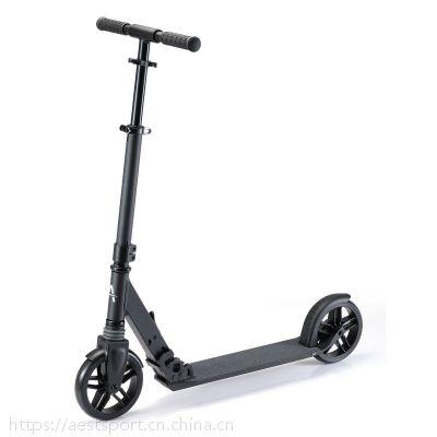 7寸可定制铝合金脚踏折叠滑板车平衡车代步车时尚成人款A75