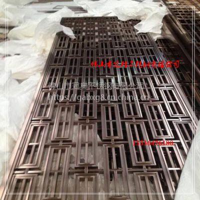 厂家直销 酒店包间隔断 不锈钢满焊精品隔断屏风 玄关隔断定制