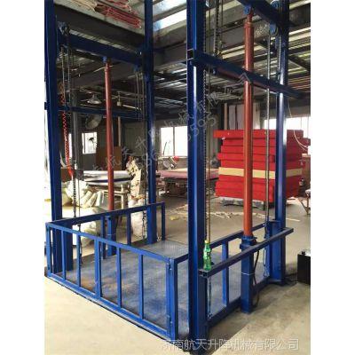 供应合肥工廠升降貨梯安裝 車間載貨電梯 鏈條式液壓升降台定制 山东厂家