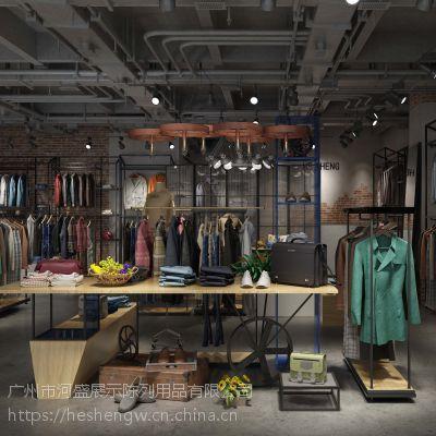 河盛展柜定制,广州河盛出售服装展示陈列道具