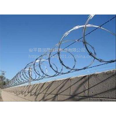 监狱护栏网、机场封闭护栏网、军事基地防护隔离网、厂区围栏网、润昂专业制造