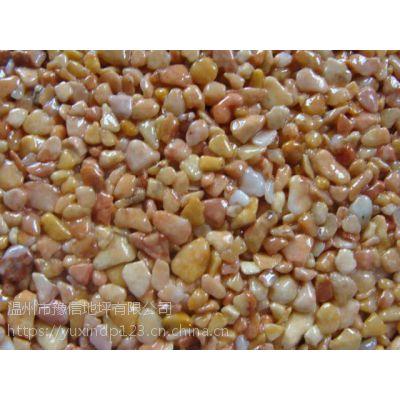 台州水磨石地坪产品 具有光泽 坚固耐磨等优点 豫信地坪