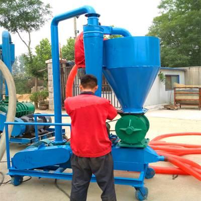 都用-湖北省煤粉气力吸粮机 环保型低噪音气力吸粮机