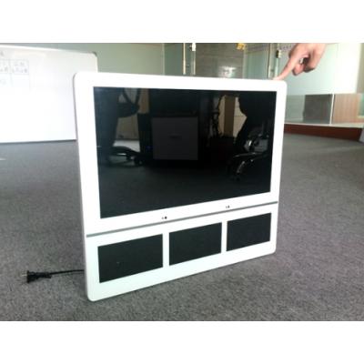 中创联合21.5寸网络广告机 电梯分四屏广告机 楼宇分众款广告一体机